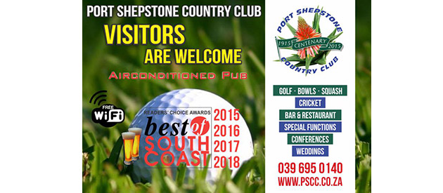 PORT SHEPSTONE COUNTRY CLUB